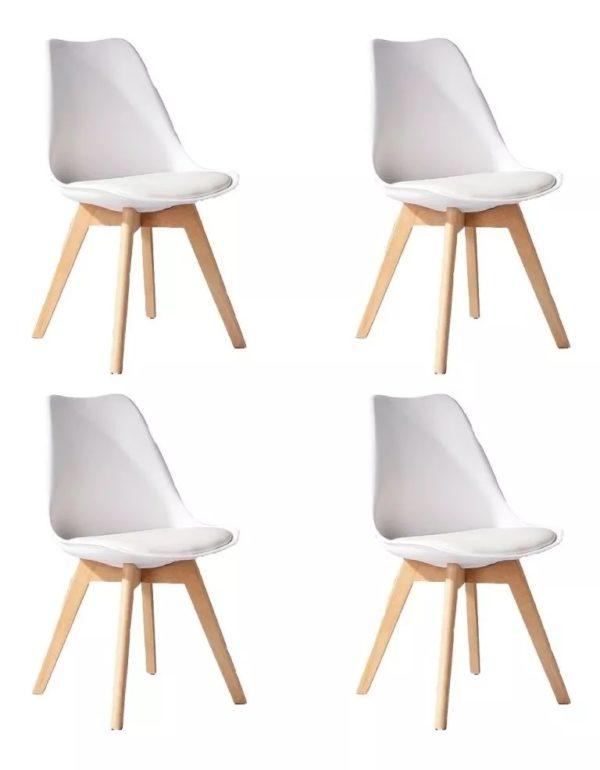 imagen de 4 sillas iguales